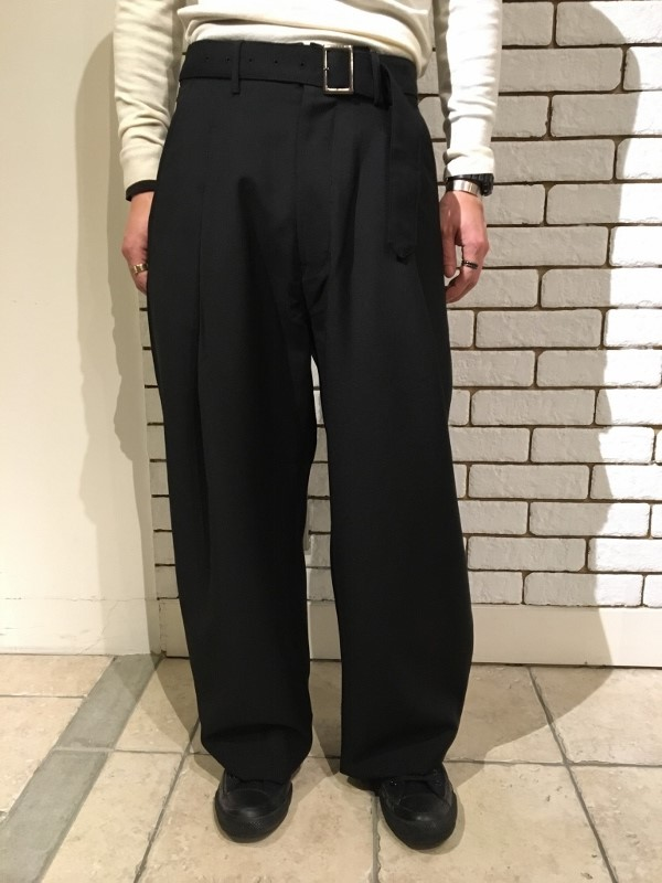 Name ネーム wool mohair tropical wide trousers 2.jpg