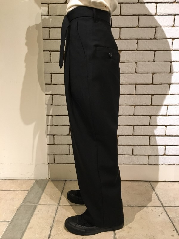 Name ネーム wool mohair tropical wide trousers 3.jpg