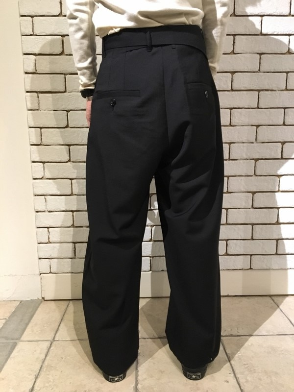 Name ネーム wool mohair tropical wide trousers 4.jpg