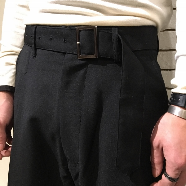 Name ネーム wool mohair tropical wide trousers 6.jpg