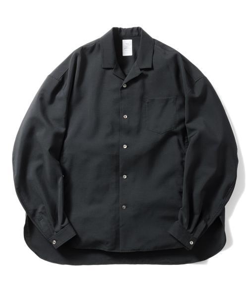 Name ネーム wool mohair oversized shirt 1.jpg