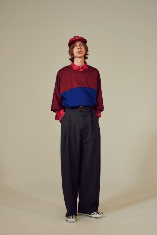Name ネーム wool mohair tropical wide trousers 5.jpg