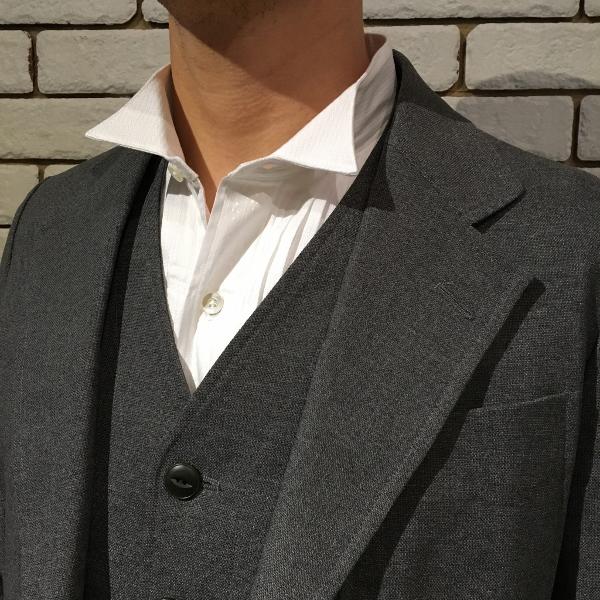 The Stylist Japan ザスタイリストジャパン ウィングカラー パッチワーク シャツ 9.jpg