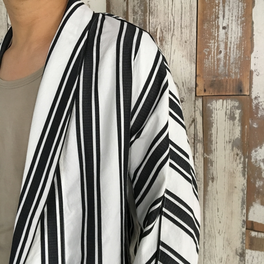 Name. ネーム STRIPED DOLMAN ROBE 3.jpg