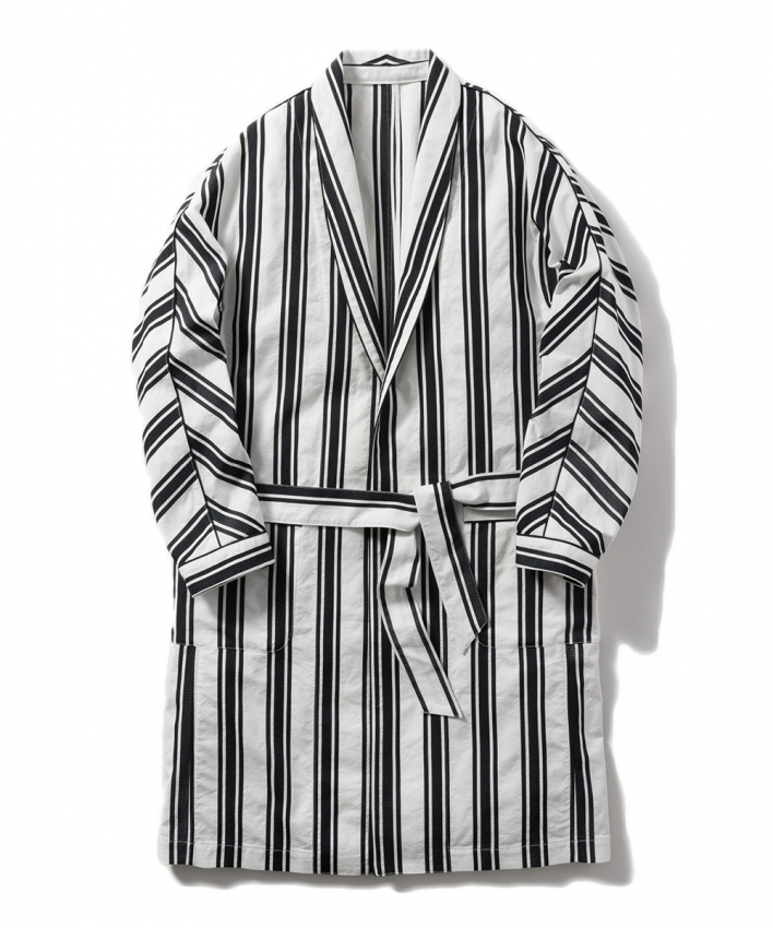 Name. ネーム STRIPED DOLMAN ROBE 1.jpg