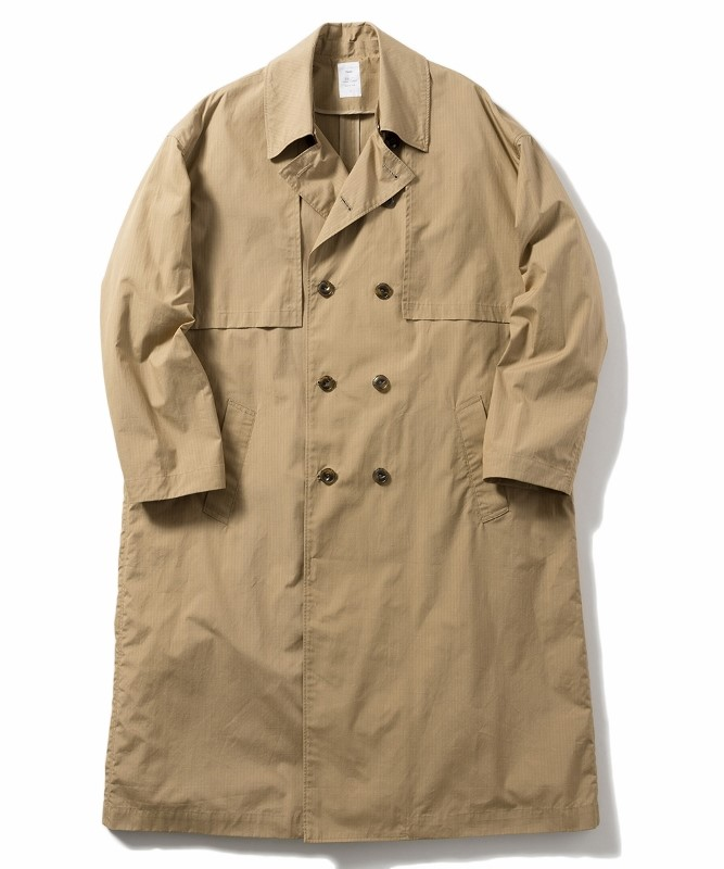 Name ネーム OVERSIZED FINX RIPSTOP TRENCH COAT 1.jpg