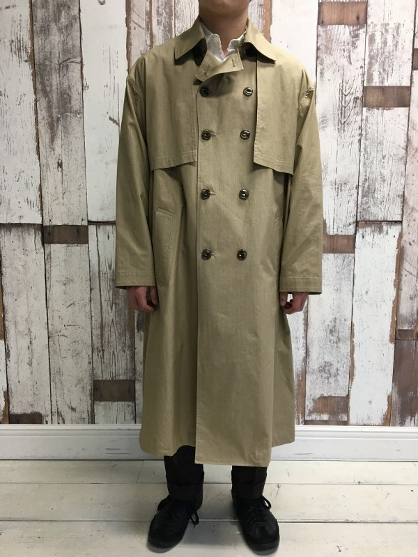 Name ネーム OVERSIZED FINX RIPSTOP TRENCH COAT 2.jpg