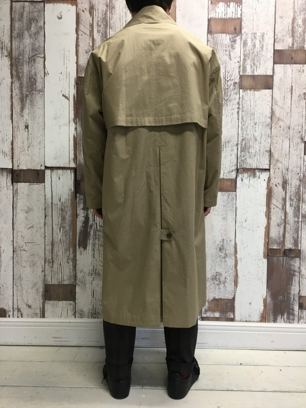 Name ネーム OVERSIZED FINX RIPSTOP TRENCH COAT 3.jpg
