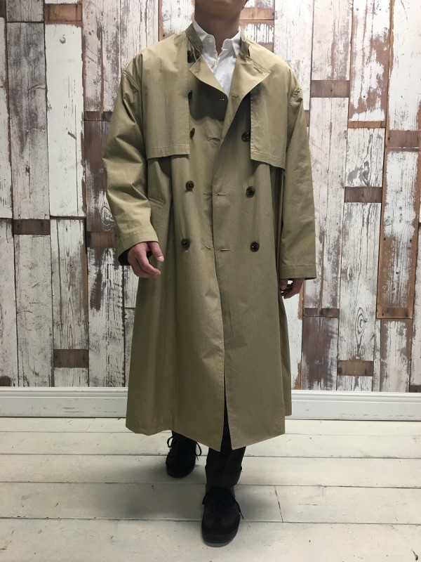 Name ネーム OVERSIZED FINX RIPSTOP TRENCH COAT 7.jpg