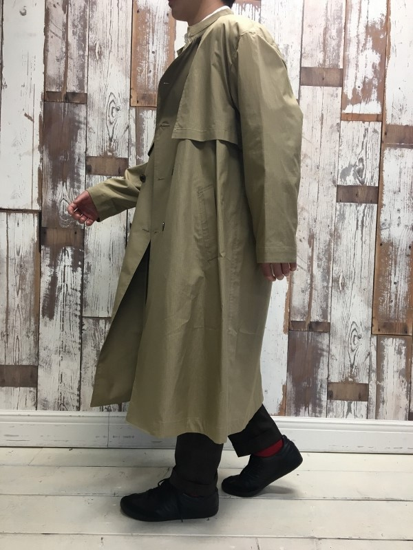 Name ネーム OVERSIZED FINX RIPSTOP TRENCH COAT 8.jpg