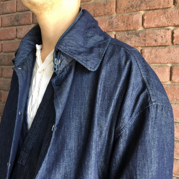 Name ネーム OVERSIZED 6OZ DENIM JACKET ONE WASH 3.jpg