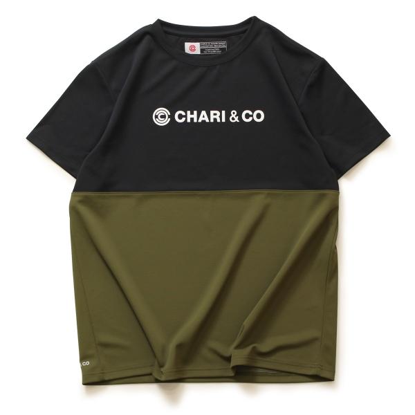 Chari&co チャリアンドコー BI TONE NISH LOGO TEE 2.jpg