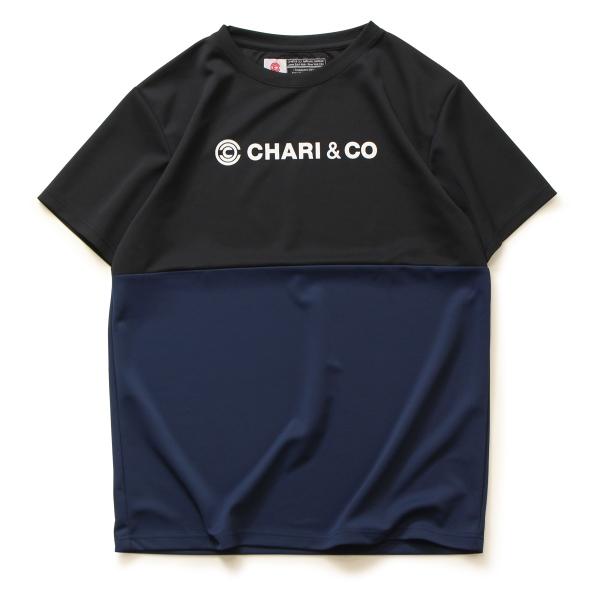 Chari&co チャリアンドコー BI TONE NISH LOGO TEE 3.jpg