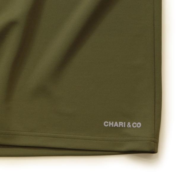 Chari&co チャリアンドコー BI TONE NISH LOGO TEE 4.jpg