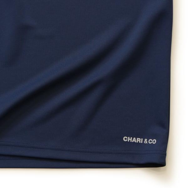 Chari&co チャリアンドコー BI TONE NISH LOGO TEE 6.jpg