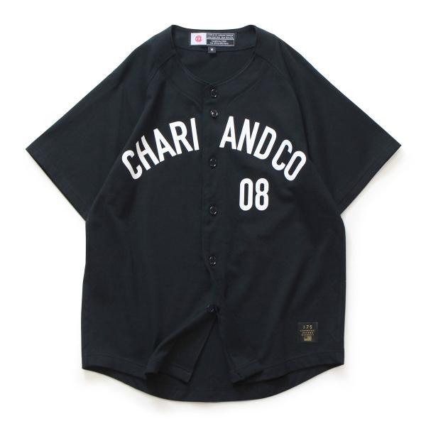 Chari&co チャリアンドコー field ss shirts 1.jpg
