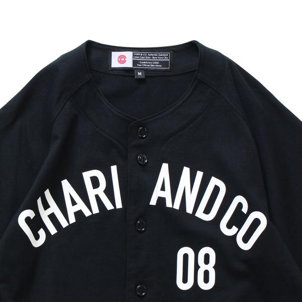 Chari&co チャリアンドコー field ss shirts 3.jpg