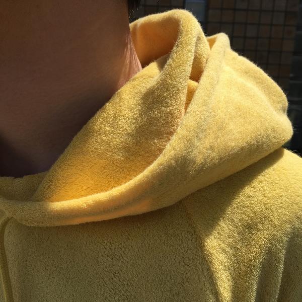 WACKO MARIA ワコマリア PILE SHORTS yellow 4.jpg