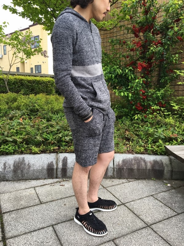 BAREFOOT DREAMS ベアフット ドリームス C489 CCL Line hoodie mens & C490 CCL shorts mens.jpg