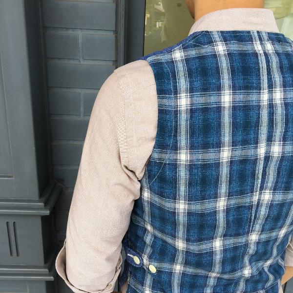 The Stylist Japan ザスタイリストジャパン Chambray Vest 5.jpg