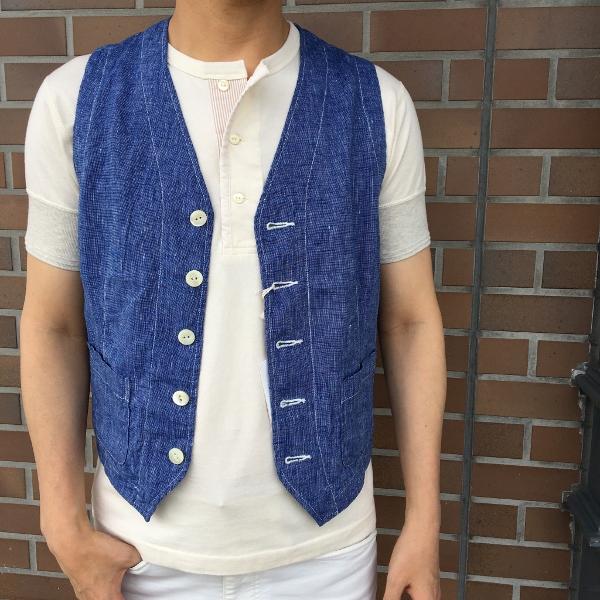 The Stylist Japan ザスタイリストジャパン Chambray Vest 7.jpg
