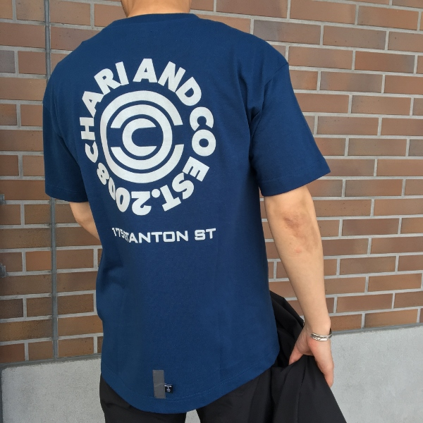 Chari&Co チャリアンドコー FORMAL PACKABLE JKT & CIRCLE LOGO PKT TEE 3.jpg