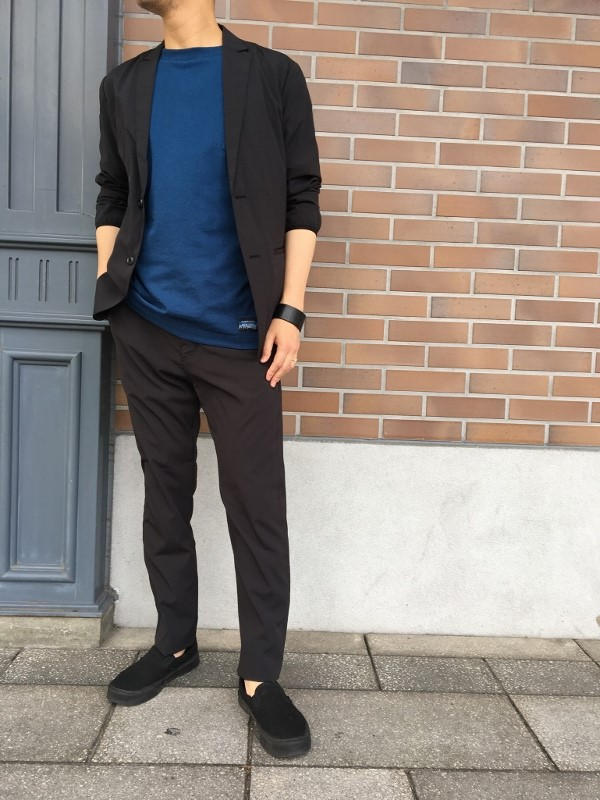Chari&Co チャリアンドコー FORMAL PACKABLE JKT & FORMAL PACKABLE PANTS 4.jpg