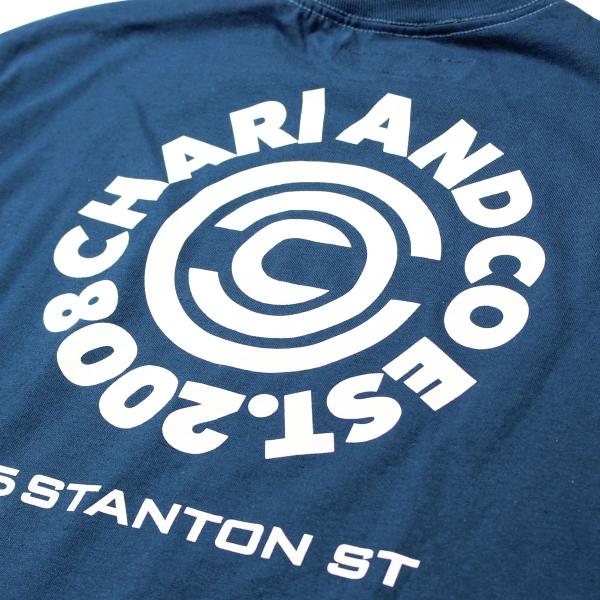 Chari&Co チャリアンドコー CIRCLE LOGO PKT TEE 3.jpg