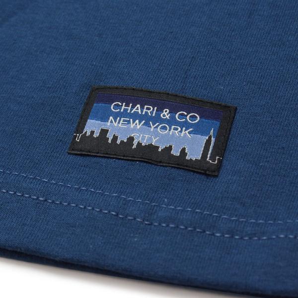 Chari&Co チャリアンドコー CIRCLE LOGO PKT TEE 4.jpg