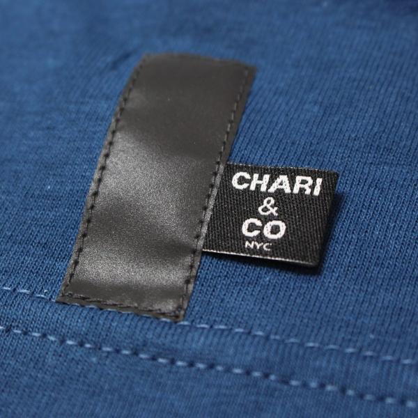 Chari&Co チャリアンドコー CIRCLE LOGO PKT TEE 5.jpg