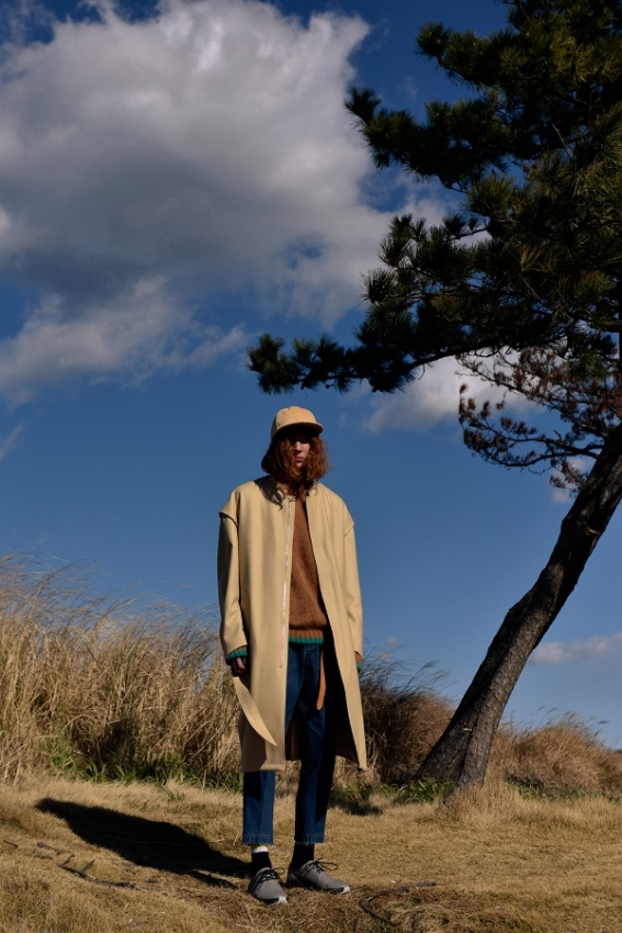 Name. ネーム COMBINATION TAPERED TROUSERS look 1.jpg