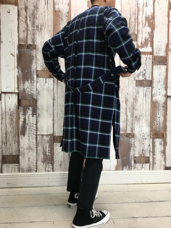 Name. ネーム PLAID COTTON ZIP UP COAT 3.jpg