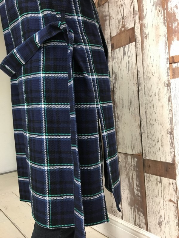 Name. ネーム PLAID COTTON ZIP UP COAT 5.jpg