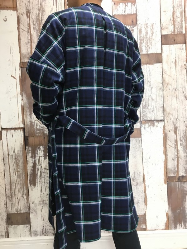 Name. ネーム PLAID COTTON ZIP UP COAT 6.jpg