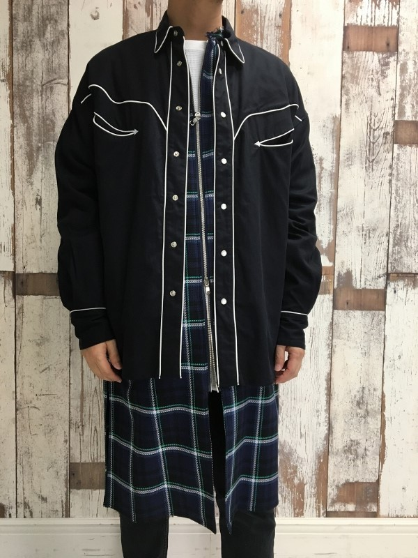 Name. ネーム PLAID COTTON ZIP UP COAT 9.jpg