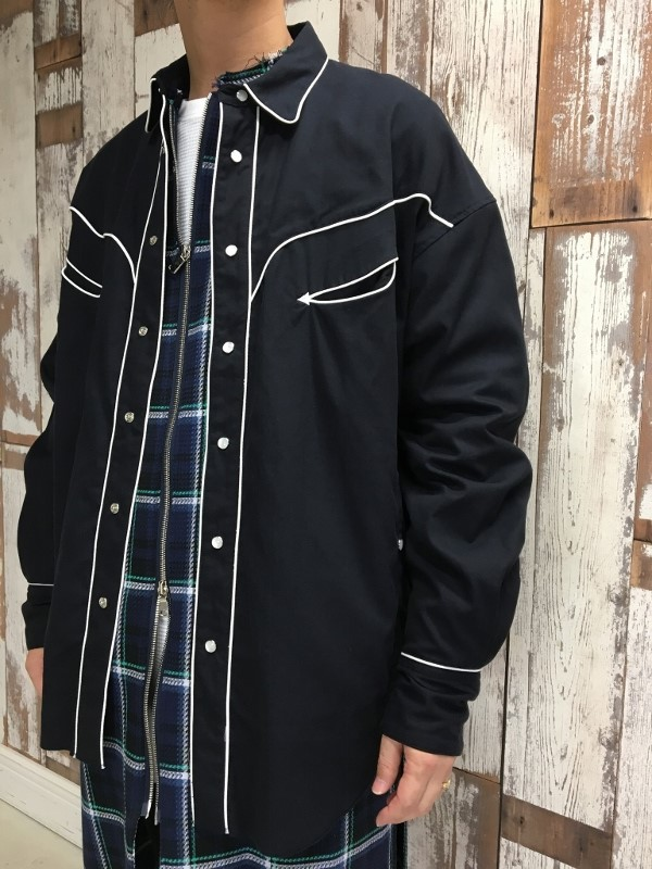 Name. ネーム PLAID COTTON ZIP UP COAT 99.jpg