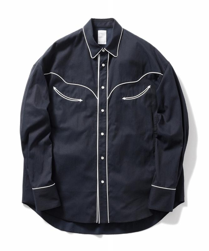 Name. ネーム TWNSEL COTTON WESTERN SHIRT 1.jpg