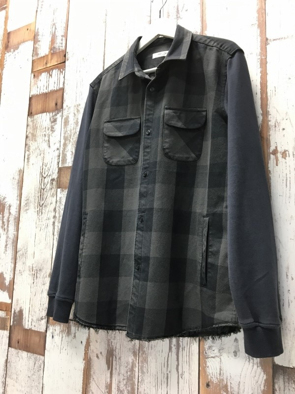 ONES STROKE ワンズストローク Block Check Shirts 1.jpg