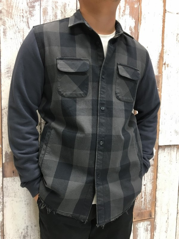 ONES STROKE ワンズストローク Block Check Shirts 2.jpg