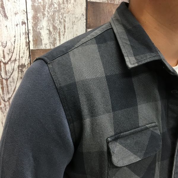 ONES STROKE ワンズストローク Block Check Shirts 3.jpg