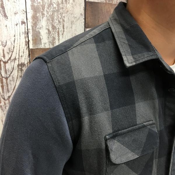 ONES STROKE ワンズストローク Block Check Shirts 3.jpg