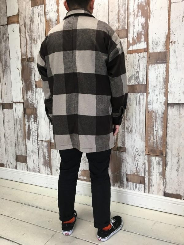 ONES STROKE ワンズストローク Wool Check ZIP Blouson 7.jpg