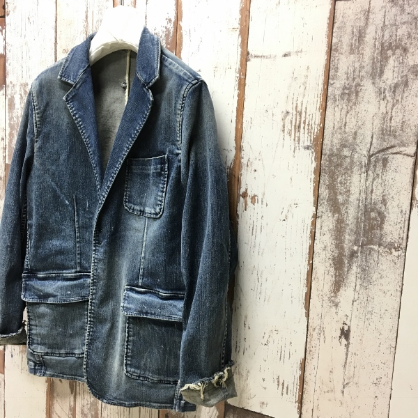 Marea Erre マレアエッレ DENIM JACKET indigo 1.jpg