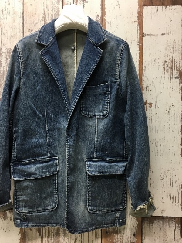 Marea Erre マレアエッレ DENIM JACKET indigo 2.jpg