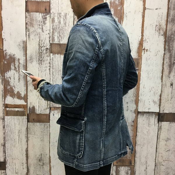 Marea Erre マレアエッレ DENIM JACKET indigo 7.jpg