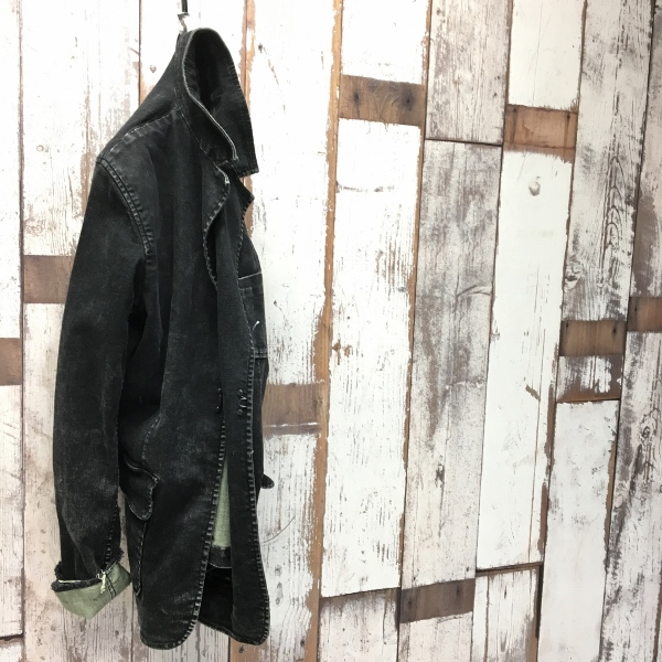 Marea Erre マレアエッレ DENIM JACKET black 1.jpg
