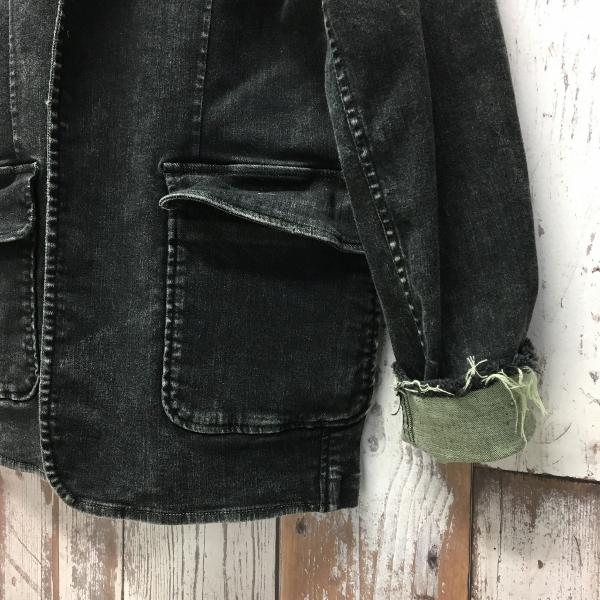 Marea Erre マレアエッレ DENIM JACKET black 3.jpg
