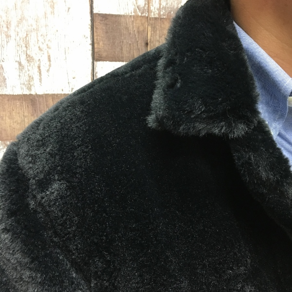 ONES STROKE ワンズストローク Fake Fur Jean Jacket 3.jpg