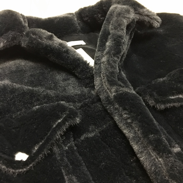 ONES STROKE ワンズストローク Fake Fur Jean Jacket 8.jpg