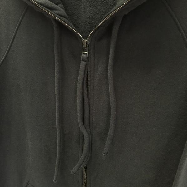 Marea Erre マレアエッレ zip hoodie long black 4.jpg